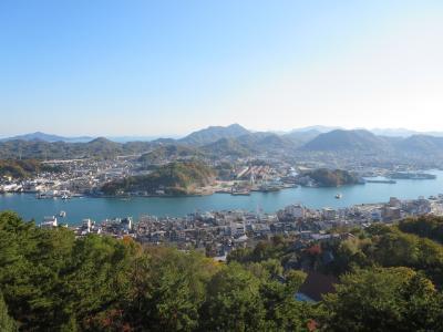 オコゼ料理と紅葉の旅、1日目~尾道・しまなみ海道~