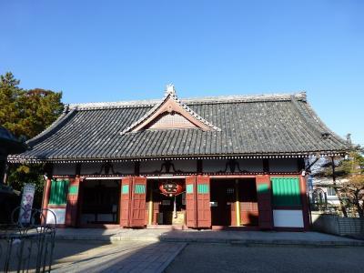 初詣は不断桜が見たいとおじさんなのにまったく関係ない子安観音寺へ