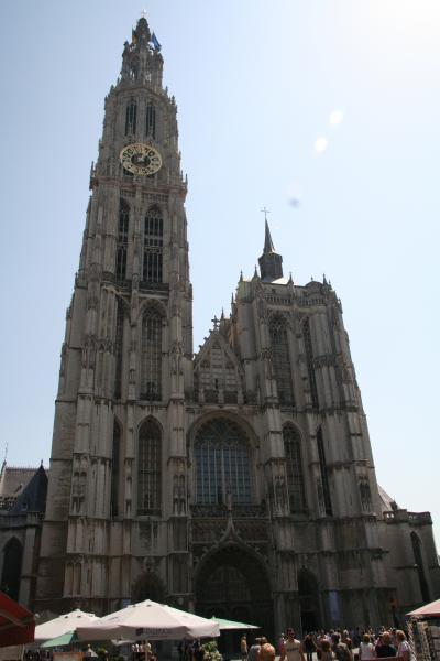 201007-08-オランダ・ベルギー・フランス3か国周遊の旅(アントワープ)Antwerpen / Belguim