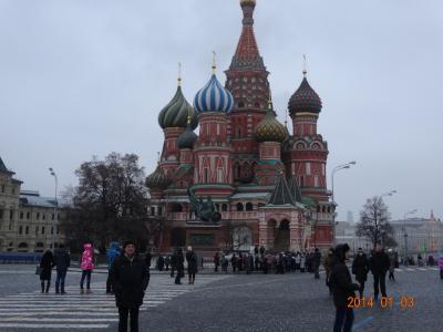 モスクワ一人旅