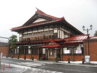 '14 冬の北東北周遊15 津軽鉄道で太宰治のふるさと金木町を観光