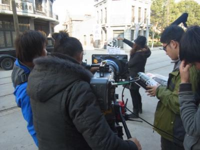 """上海で""""タイムスリップ""""だぁ~!★上海映画撮影村へGO~!★"""