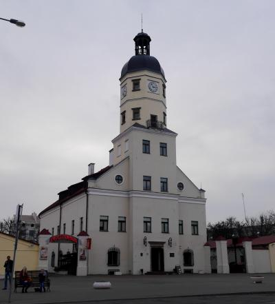 オーストリア・ベラルーシ旅行12-ニャースヴィシュ(Nesvish) 聖体教会,市庁舎,街歩き
