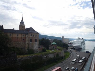 バルト海プリンセスクルーズ親子旅④素敵な朝でした^^v最初の寄港地オスロの街歩き~♪