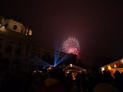 ウィーン&ザルツブルク 2013/14年末年始 カウントダウンはマリア・テレジア広場で!~ウィーンで年越し~