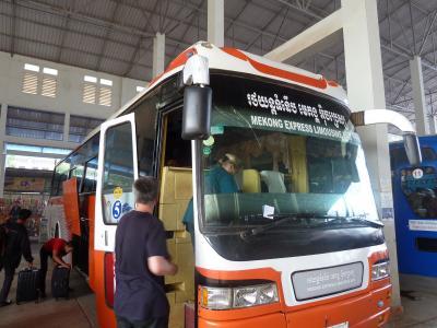 シェムリアップからプノンペン バスの旅 300km