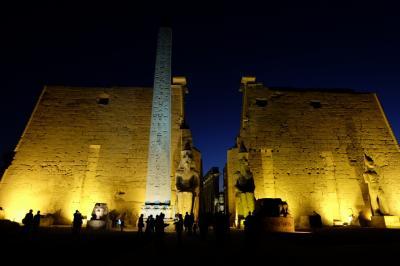 エジプト ギザプラミッドとナイル川クルーズで巨大遺跡観光その2 ルクソール ナイル川東岸観光