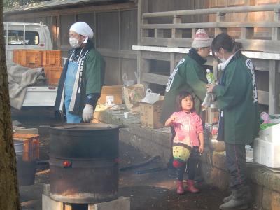 2014年の初詣に神明社を訪問