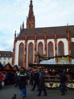 クリスマスマーケットを巡る旅<その7> ヴュルツブルク