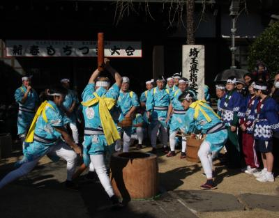 川越南大塚の餅つき踊り Mochitsuki-odori/Rice cake making with traditional dance