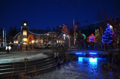 冬のカナダ旅行 驚きのスケールのゲレンデと美しい街並みを堪能できたウイスラー