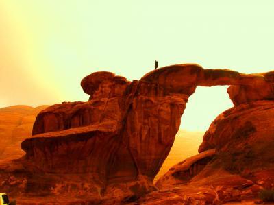 Jordan【3】砂漠ツアーは命がけ☆ワディ・ラムで月面旅行/気分はアラビアのロレンス