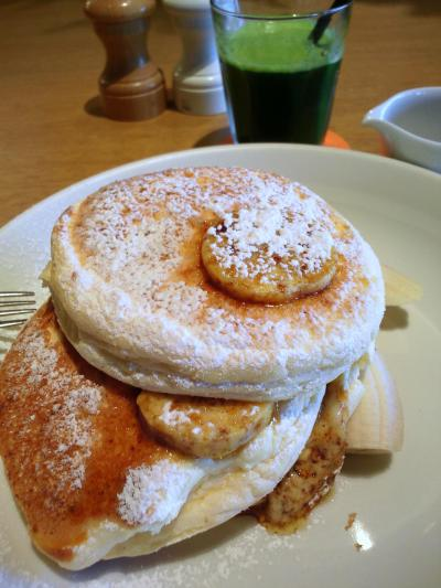 お台場【ビルズ】で並ばず世界一の朝食を食す!その後ちょっとだけフジテレビ見学。