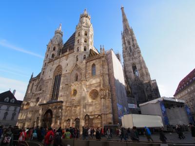ウィーン&ザルツブルク 2013/14年末年始 シュテファン寺院~北塔からの眺望&カタコンベガイドツアー~