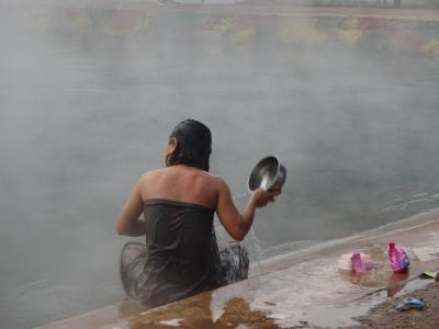 シャン族の村と石鹸の香りの温泉 / ティーボー、ラーショー / ミャンマー 5