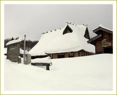 Solitary Journey[1322]白銀の世界…と言っても中国山地からです。広島県で一番の豪雪地帯を走る♪<八幡高原>広島県北広島町