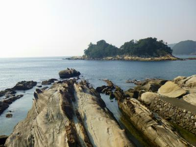 高知2・・竜串、見残し海岸、貸切状態♪