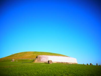 【14.1.7~.14.1.22】冬のアイルランド 2日目:バスエーランでドロヘダ・ニューグレンジ遺跡へ