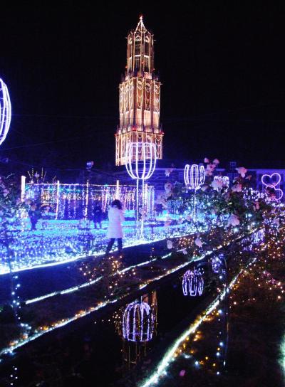1,000万球の光の祭典、ハウステンボス!