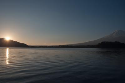 年末年始は富士五湖で