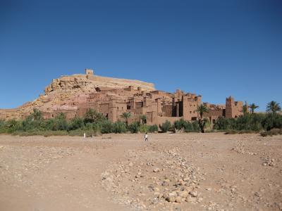 モロッコぐる~り周遊13日間(9) ◇◆アイト・べン・ハッドゥ 砂漠に佇む要塞村◆◇