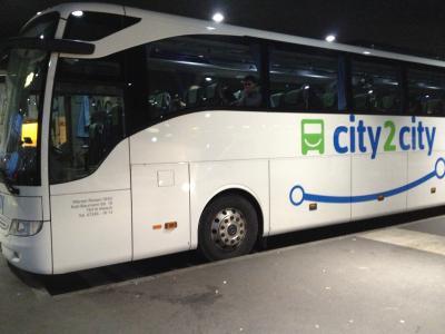 年末年始の過ごし方? ミュンヘンからフランクフルトへの格安バス移動