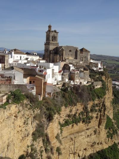 可愛いね~。アンダルシアの白い村⑦パラドールに泊まったのはアルコス・デ・ラ・フロンテーラ編