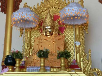 ヤンゴンのキンキラキンな寺、ボウタタウンパゴダ