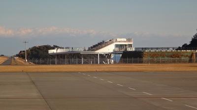 避寒旅行(134)・・・那覇空港から富士山静岡空港まで 左翼席編