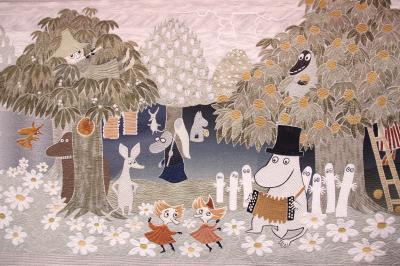 東京国際キルトフェスティバル2014(3)特集企画・キルトでつむぐムーミン物語の世界