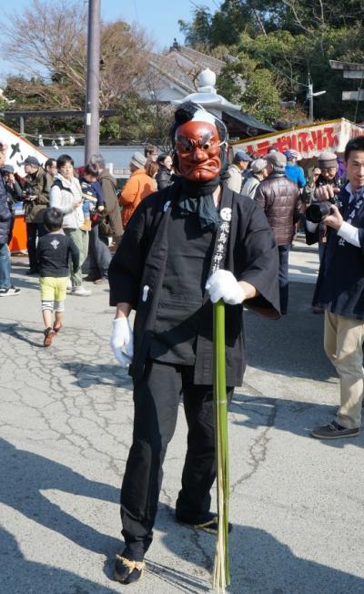 2014明日香村 飛鳥坐神社 おんだ祭