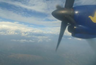 2014新春、ネパール旅行記(17)1月23日(8):カトマンズ空港からポカラ空港へ、ポカラで3泊したホテル