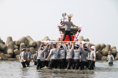 大阪府阪南市みこし祭りを訪ねて