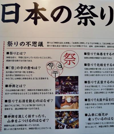ふるさと祭りg 「日本の祭り」を考える ☆太陽・自然神を崇拝
