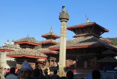 2014新春、ネパール旅行記(36)1月26日(6):カトマンズ、ダルバール広場、マジュデワル寺院、バグワティ寺院
