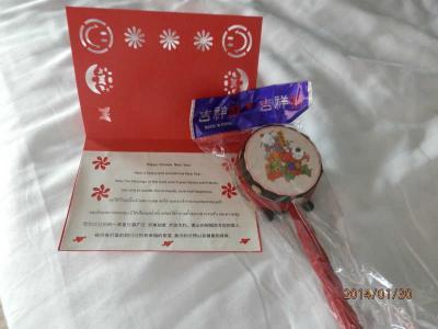 bkk3回30木曜1朝宿泊は41SUITE BANGKOK 春節の大晦日にいただいたプレゼント