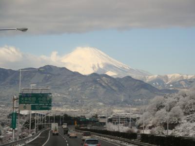 箱根近辺日帰りバスツアー(雪)