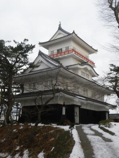 秋田・千秋公園散策とコンフォートホテル宿泊