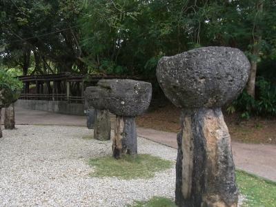 ^^;またまたグアム(5)2日目~ラッテストーン公園
