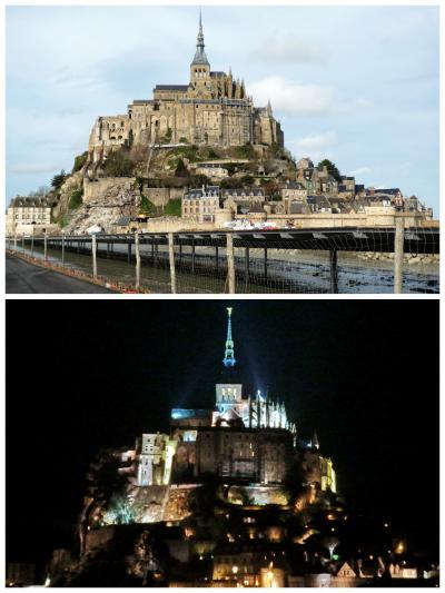 フランス冬の旅<2> ロワール地方の古城めぐり・モンサンミッシェル