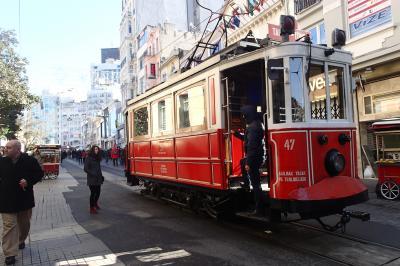 イスタンブール一人旅2014 乗り物