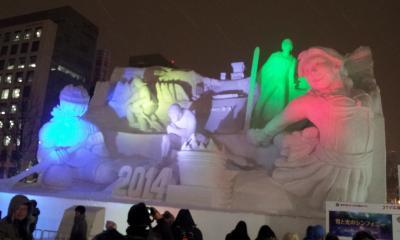 2014年2月5日,6日「さっぽろ雪まつりが見たい!!」平日弾丸の旅