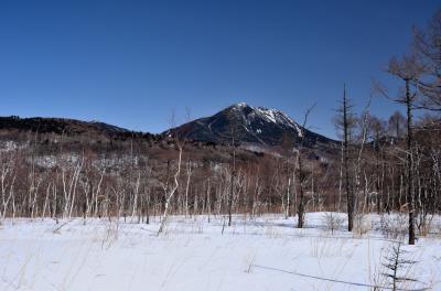 氷と雪の世界、冬の奥日光一泊旅行 (3)戦場ヶ原スノーシュートレッキング