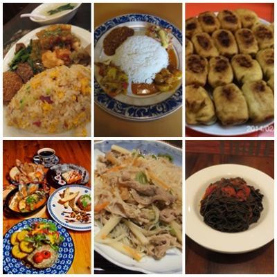 東京で世界の料理を味わう
