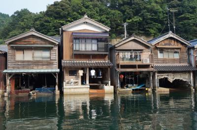 2013ぶらり山陰バイク旅【6】 丹後・伊根の舟屋