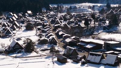 冬の飛騨路