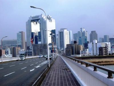 日本の旅 関西を歩く 大阪市淀川区の新十三大橋(しんじゅうそうおおはし)周辺