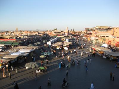 モロッコぐる~り周遊13日間(11) ◇◆マラケシュ バラ色に染まる街◆◇