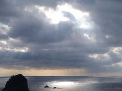 三連休西伊豆2012☆雲見から堂ケ島へ!お願い、夕日よあらわれて~!!編