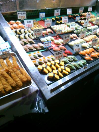 唐戸市場で朝ごはん